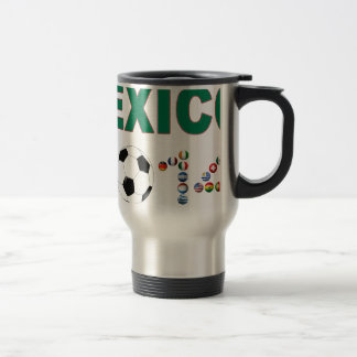 Mexico Soccer 2340 Travel Mug