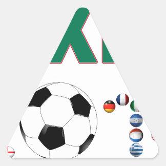 Mexico Soccer 2340 Triangle Sticker