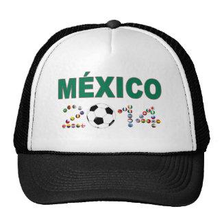 Mexico Soccer 2340 Trucker Hat