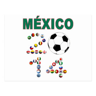 Mexico Soccer 2641 Postcard