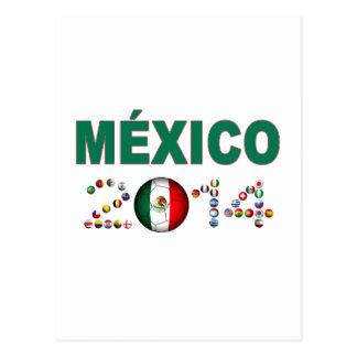 Mexico Soccer 2856 Postcard