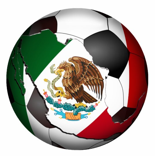 Mexico Soccer Ball Cutout