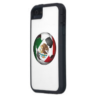 Mexico Soccer Ball iPhone 5 Cases