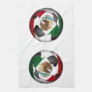 Mexico Soccer Ball Towel