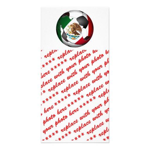 Mexico Soccer Ball Photo Card