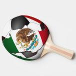 Mexico Soccer Ball Ping-Pong Paddle