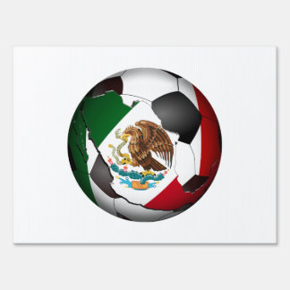 Mexico Soccer Ball Signs