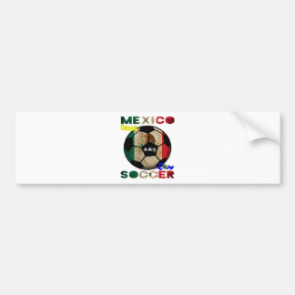 MEXICO SOCCER BALON CUSTOMIZABLE PRODUCTS BUMPER STICKERS