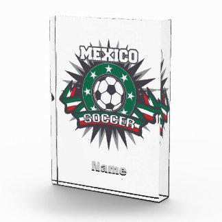 Mexico Soccer Burst Award