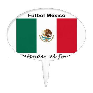 Mexico Soccer Cake Topper