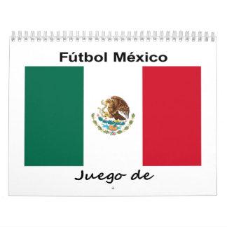 Mexico Soccer Wall Calendars