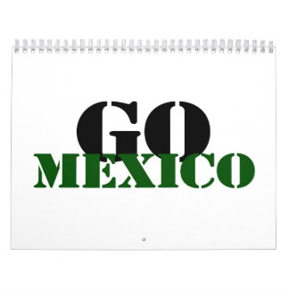 Mexico Soccer Calendars