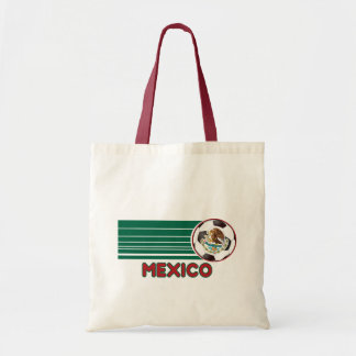 Mexico Soccer Canvas Tote Bag