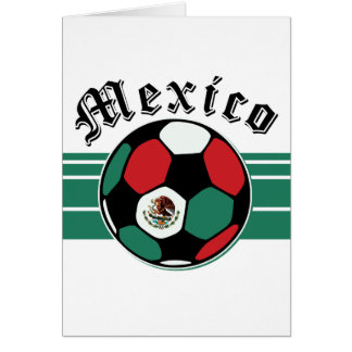 Mexico Soccer Card