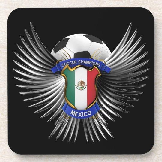 Mexico Soccer Champions Beverage Coaster