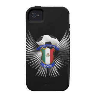 Mexico Soccer Champions Vibe iPhone 4 Cases