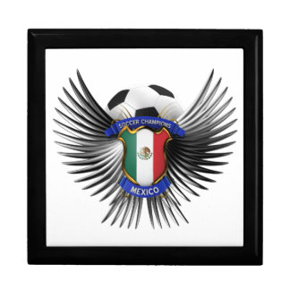 Mexico Soccer Champions Jewelry Boxes