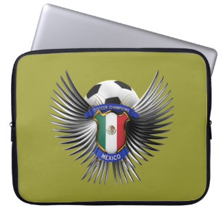 Mexico Soccer Champions Laptop Computer Sleeve