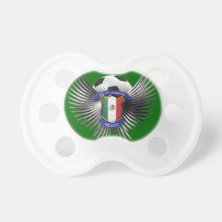 Mexico Soccer Champions Pacifier