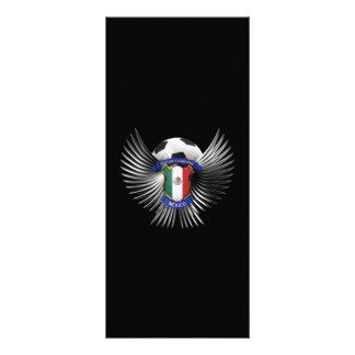 Mexico Soccer Champions Personalized Rack Card
