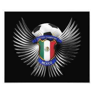 Mexico Soccer Champions Photo Print