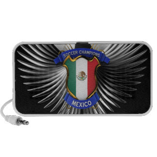 Mexico Soccer Champions iPod Speakers