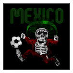 Mexico Soccer El tri Futbol Beyond Death gifts Posters