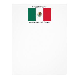 Mexico Soccer Flyer