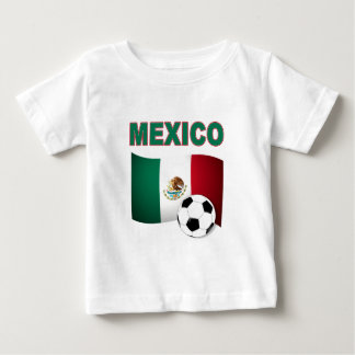 mexico soccer football world cup 2010 baby T-Shirt