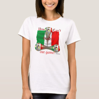 Mexico Soccer Game On Spaghetti Strap T-Shirt