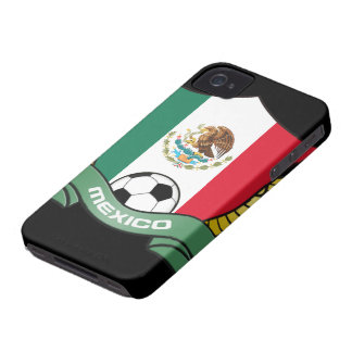 Mexico Soccer iPhone 4/4S Case-Mate Barely There iPhone 4 Cover