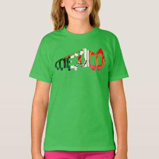 Mexico Soccer Mexican Football T-Shirt