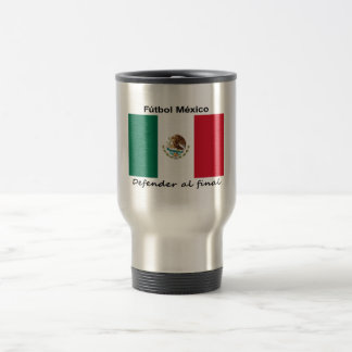 Mexico Soccer 15 Oz Stainless Steel Travel Mug