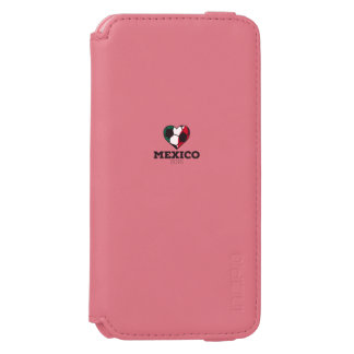 Mexico Soccer Shirt 2016 iPhone 6/6s Wallet Case