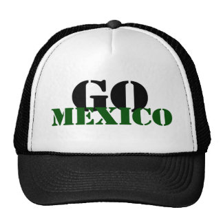 Mexico Soccer Trucker Hat