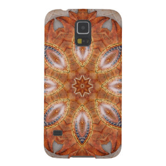 Mexico Sol Kaleidoscope Medallion Galaxy S5 Cover