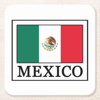 Mexico Square Paper Coaster