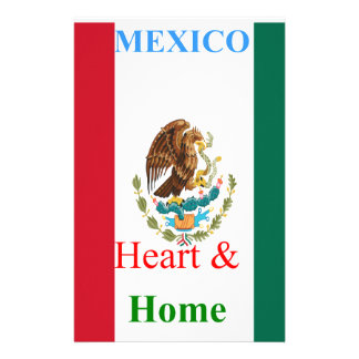 Mexico Personalized Stationery