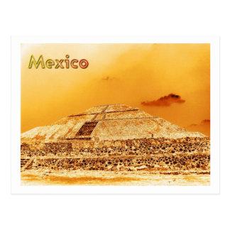 Mexico Sun Pyramid Post Cards