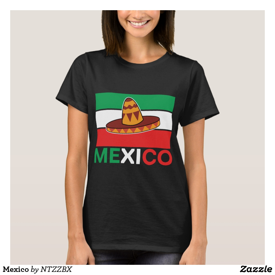 Mexico T-Shirt - Best Selling Long-Sleeve Street Fashion Shirt Designs