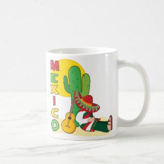 México Taza Básica Blanca