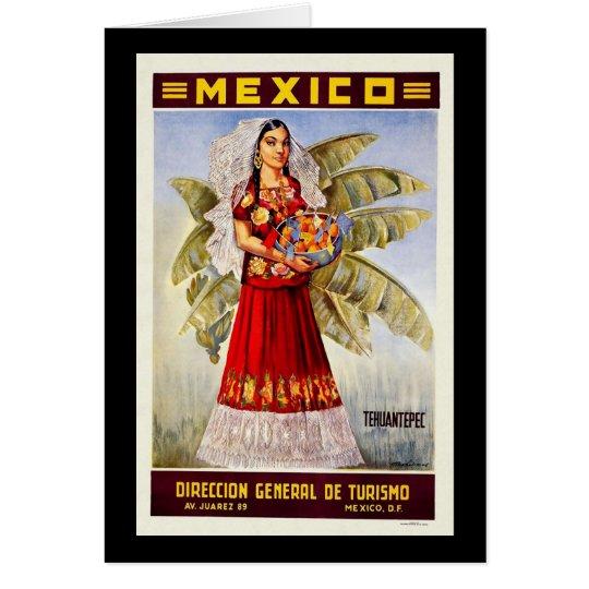 Mexico Tehuantepec Card