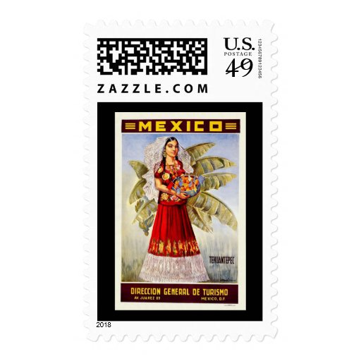 Mexico Tehuantepec Postage Stamp