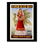 Mexico Tehuantepec Postcard