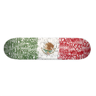 Mexico Textual Skateboard