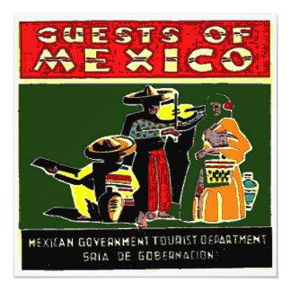 Mexico Tourist Personalized Invitations