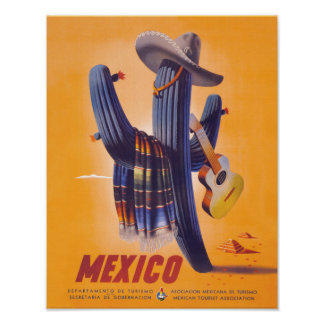 Mexico Travel Poster 1