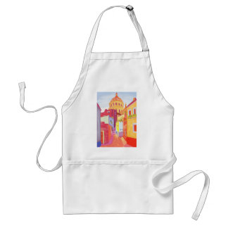 Mexico Travel Poster Aprons