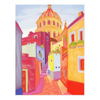 Mexico Travel Poster Postcard
