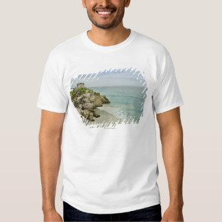 Mexico, Tulum, ancient ruins on beach T Shirt